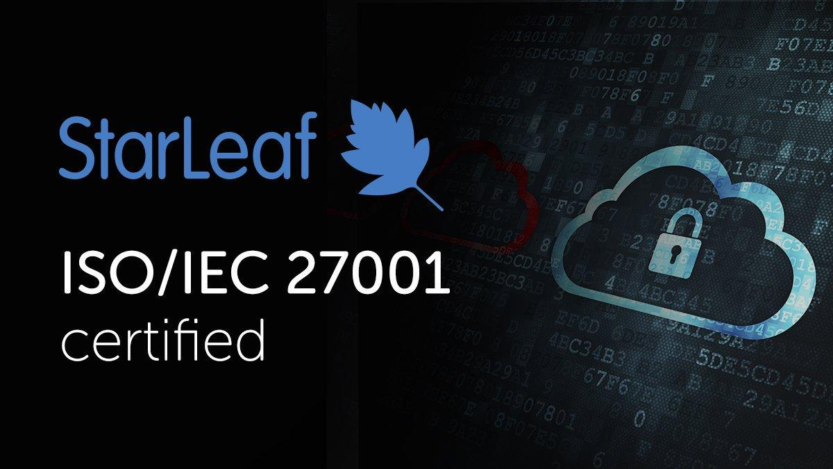 StarLeaf ISO27001